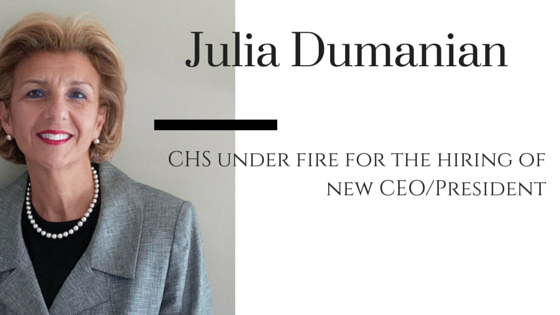 CHS under fire for the hiring of new CEO/President